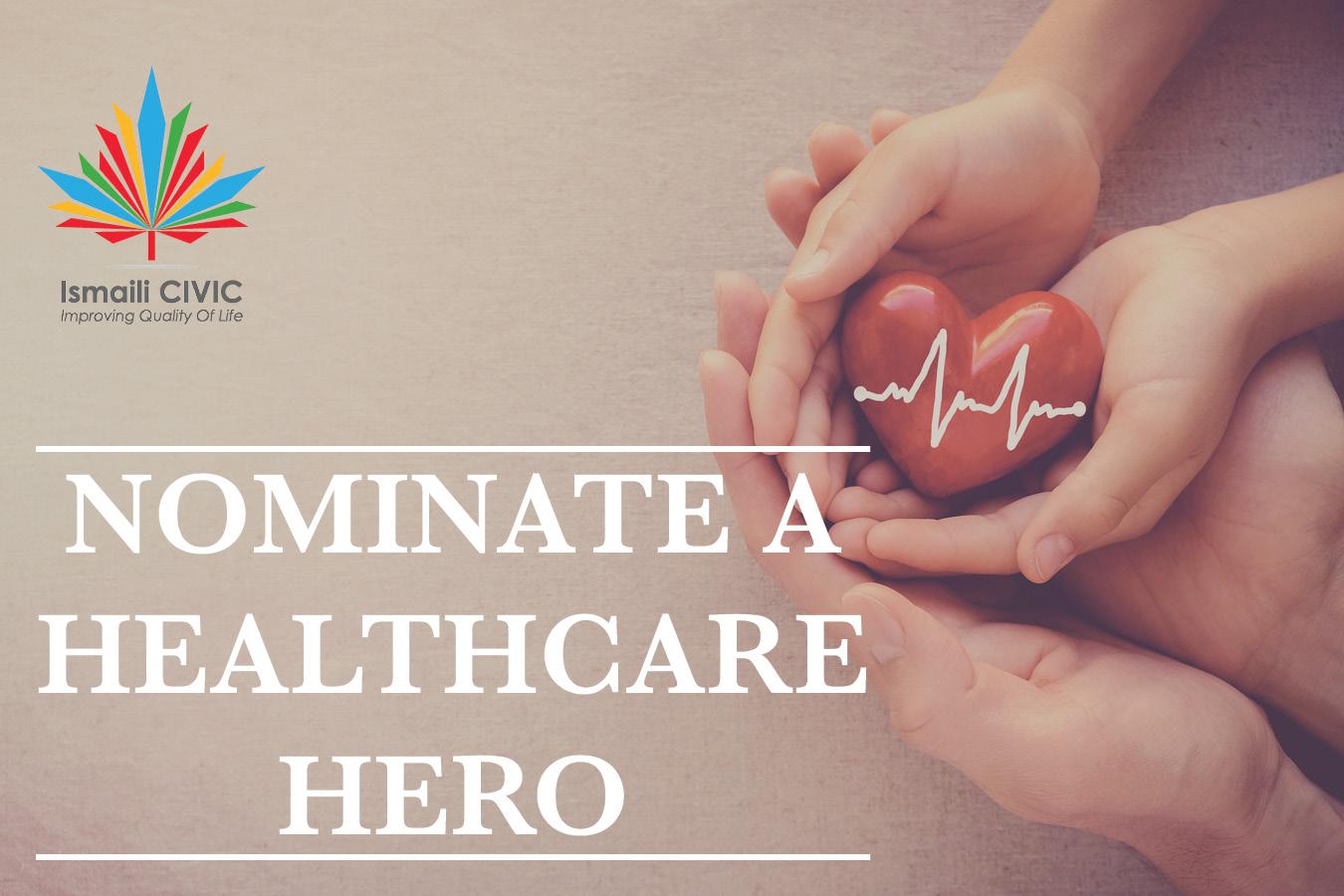 Nominate a Healthcare Hero
