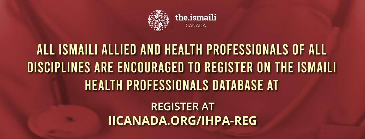 Ismaili Healthcare Professional Registration Drive