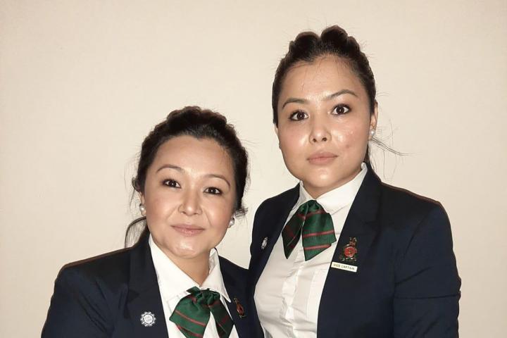 Shikiba (left) and Shugofa Azizi. Photo: Courtesy of Shikiba and Shugofa Azizi.